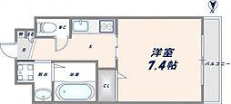 レガーロ布施[11階]の間取り