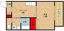 メゾンD's[2階]の間取り