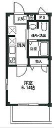 東京都大田区下丸子4丁目の賃貸マンションの間取り