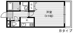 キリベアート[2階]の間取り