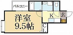 メゾン・ジョイス[3階]の間取り