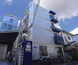 京都府京都市左京区北白川東久保田町の賃貸マンションの外観