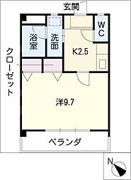 SIECLE21[2階]の間取り