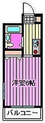メゾン・ドゥ・フジ大宮[10階]の間取り