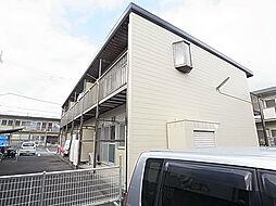 千葉県松戸市六高台西の賃貸アパートの外観