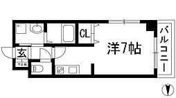 Grande etoile[1階]の間取り