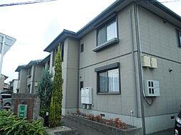 愛媛県松山市三町2丁目の賃貸アパートの外観