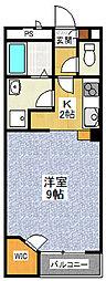 レオネクスト美原野元[1階]の間取り