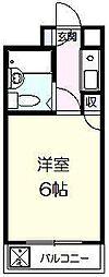 シルフィード西川口II[4階]の間取り