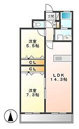 SOARII[2階]の間取り
