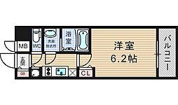 プレサンスOSAKA  DOMECITY ワンダー[3階]の間取り