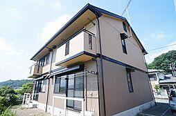 群馬県高崎市神戸町の賃貸アパートの外観