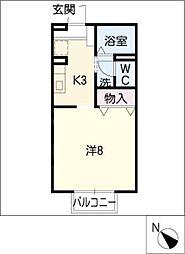Maison Clair[1階]の間取り
