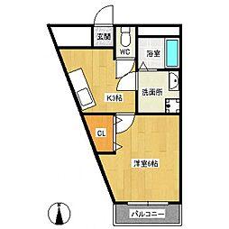 タプロウコート[1階]の間取り