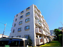 東京都東久留米市八幡町1丁目の賃貸マンションの外観