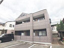 兵庫県芦屋市竹園町の賃貸アパートの外観
