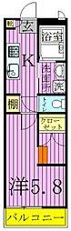 NEKO BUS[1階]の間取り