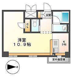 KDXレジデンス東桜I[4階]の間取り