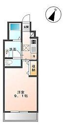 木更津市金田東5丁目新築アパート[105号室]の間取り