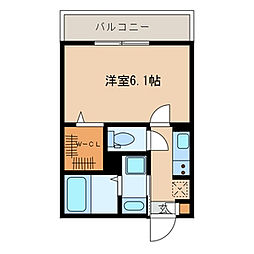 千葉県浦安市海楽1丁目の賃貸アパートの間取り
