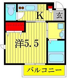 Lip Square[2階]の間取り