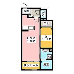 コクテール[1階]の間取り