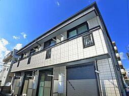 千葉県松戸市新松戸2丁目の賃貸アパートの外観