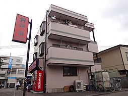 東京都東久留米市下里3丁目の賃貸マンションの外観