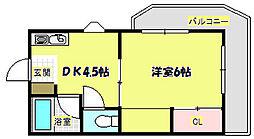 EST-1小野原[2階]の間取り