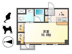 KDXレジデンス東桜I[9階]の間取り