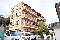 岡山県岡山市中区赤坂台の賃貸マンションの外観