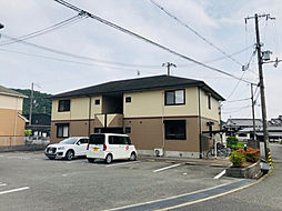 兵庫県姫路市広畑区蒲田の賃貸アパートの外観