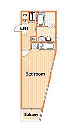 横浜ハートヒルズ[2階]の間取り