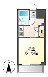 ユース白壁[3階]の間取り