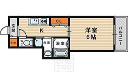 b.shade[8階]の間取り