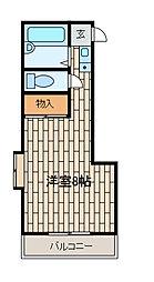 YSヴィレッジ[3階]の間取り