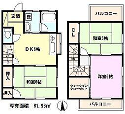 [テラスハウス] 埼玉県川口市安行領家 の賃貸【/】の間取り