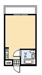ルミナス荘苑[802号室]の間取り
