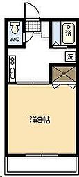 MINAMICOURT[201号室]の間取り