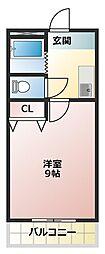 フロンティア21[3階]の間取り