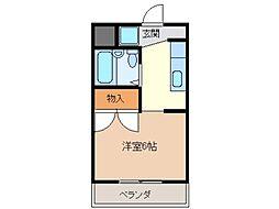 Sパレスカメヤマ[4階]の間取り