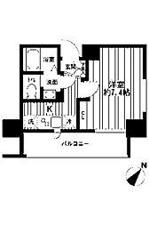 ザ・パーククロス町田[8階]の間取り