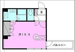 サンライズ豊坂[605 号室号室]の間取り