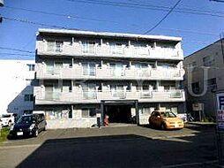 北海道札幌市北区北二十六条西8丁目の賃貸マンションの外観