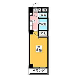 PROUDIA岡崎[7階]の間取り