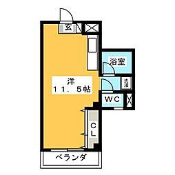 ランドマーク2[2階]の間取り