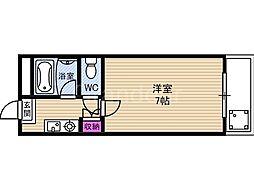 フローラル横堤[2階]の間取り