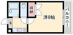 ドリーム三条Ⅱ[2階]の間取り