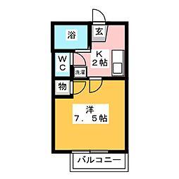 パームコート[1階]の間取り