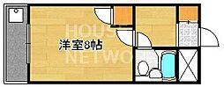 京都府京都市東山区小松町の賃貸マンションの間取り